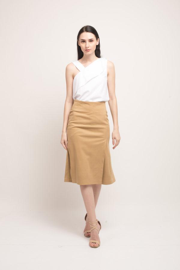 fuji suede skirt