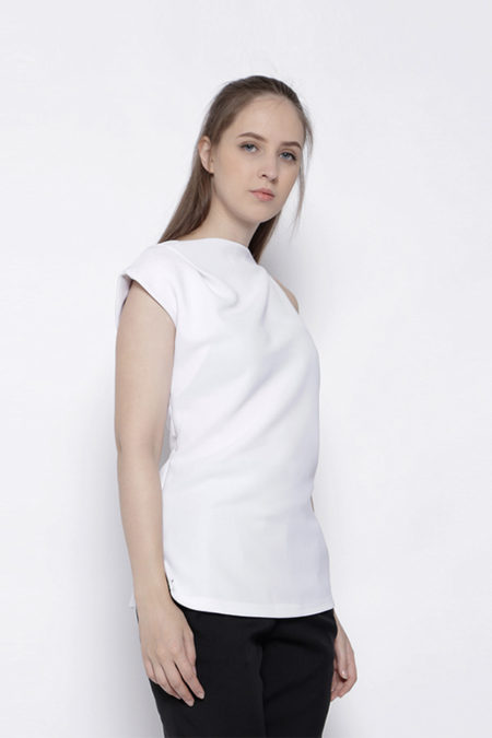 FRAYED WHITE TOP - 4
