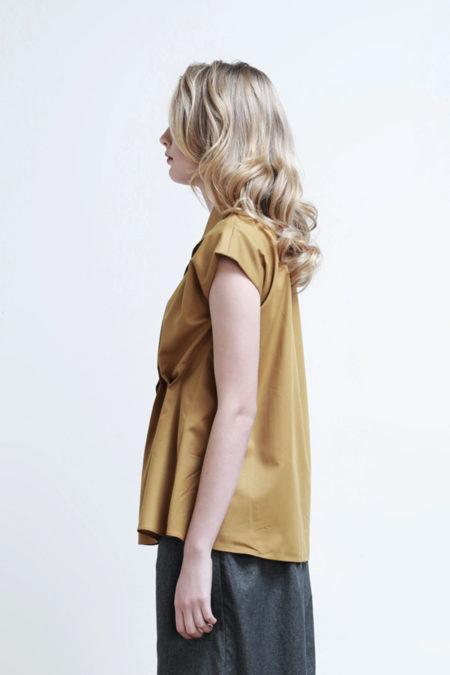 Anya Mustard Top - 8