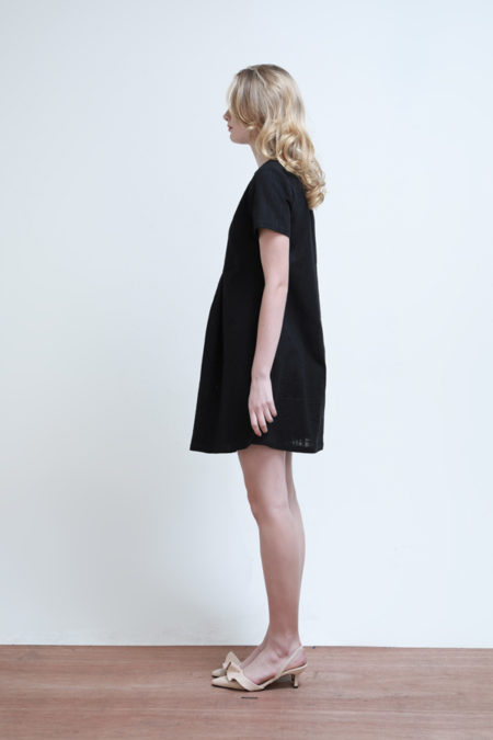 Chloe Gathered Dress - 3