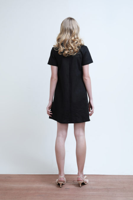 Chloe Gathered Dress - 4