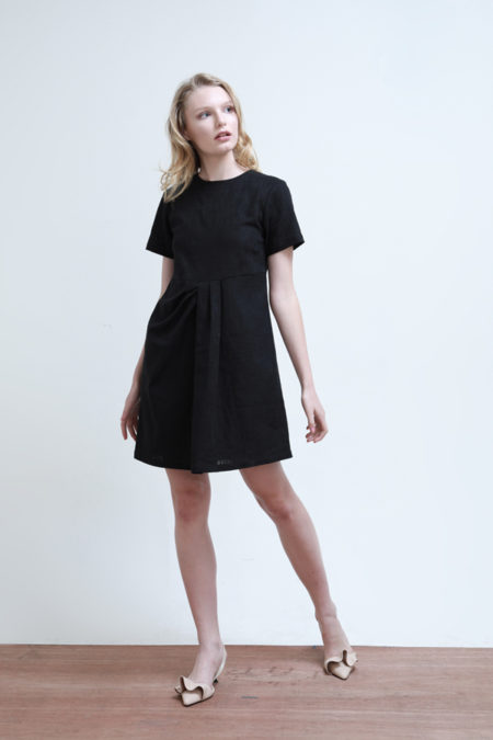 Chloe Gathered Dress - 6
