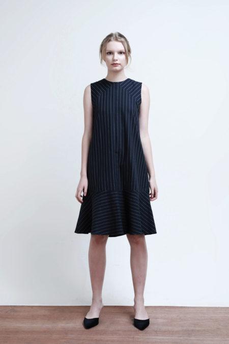 Hayden Striped Dress-1
