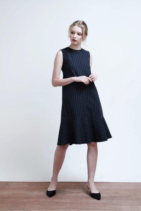 Hayden Striped Dress-5