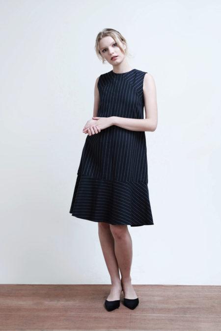 Hayden Striped Dress-6