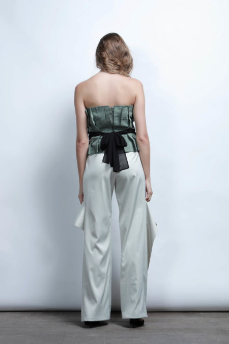 Roselynne Wrapped Bustier 4