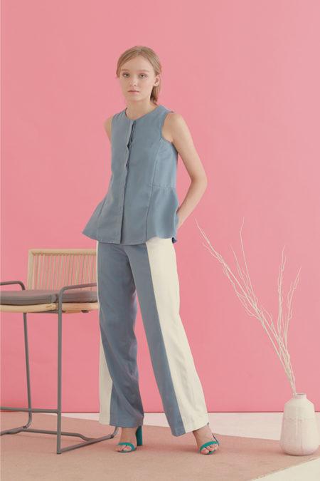 Braidy Panel Trousers 10