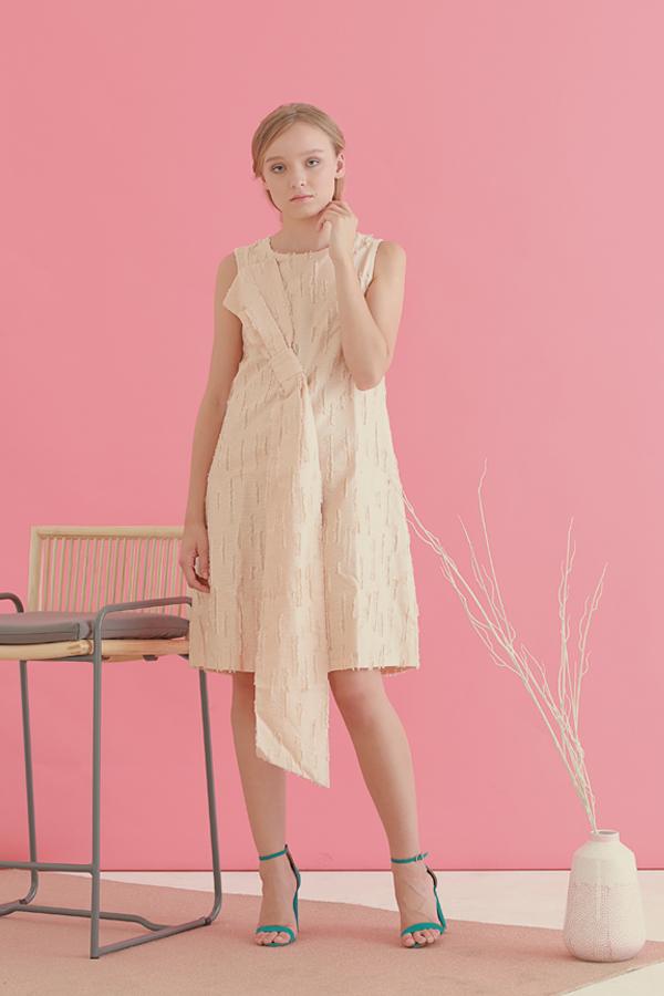 Safron Bow Dress 6