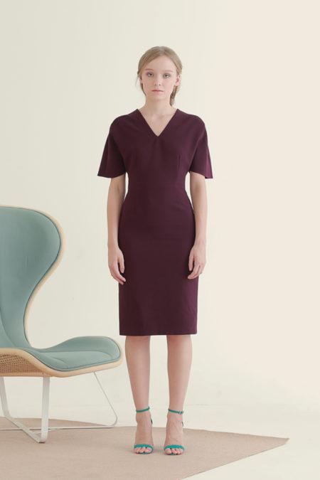 Jackie Purple Dress 2