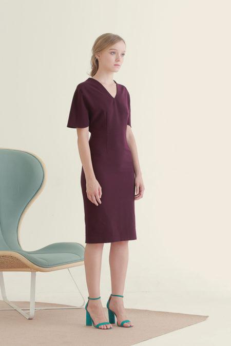 Jackie Purple Dress 3
