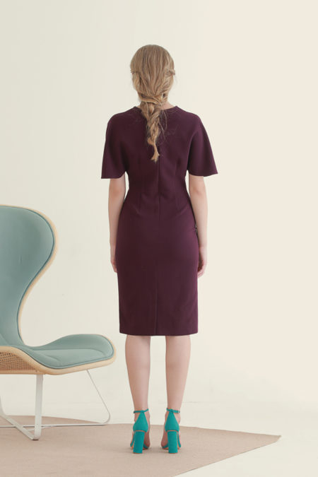 Jackie Purple Dress 4