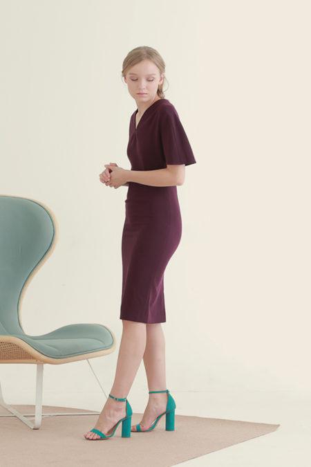 Jackie Purple Dress 5