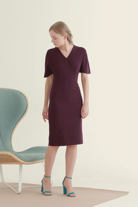 Jackie Purple Dress 6