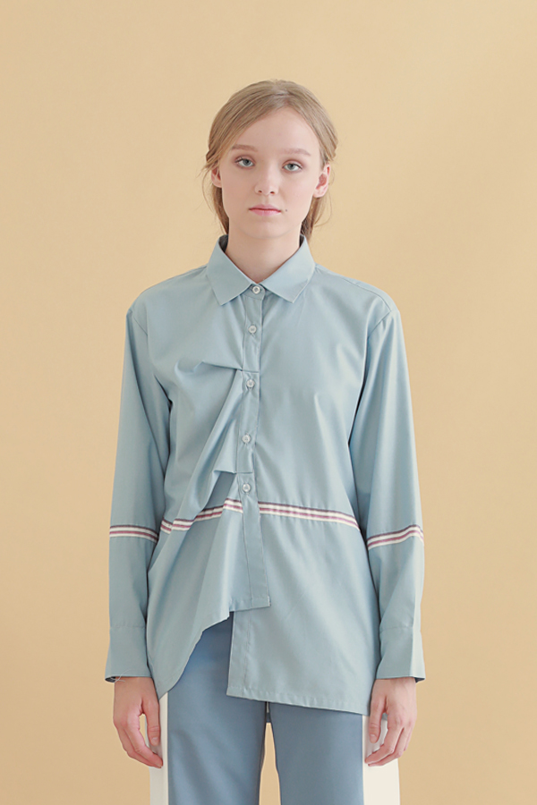 Fin Pleated Shirt 10