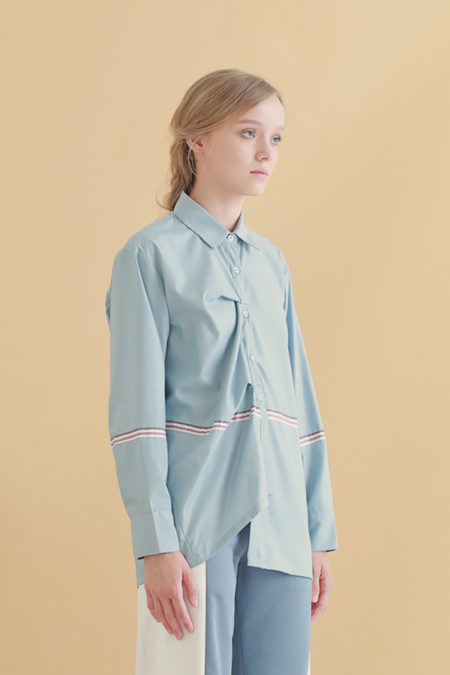 Fin Pleated Shirt 11