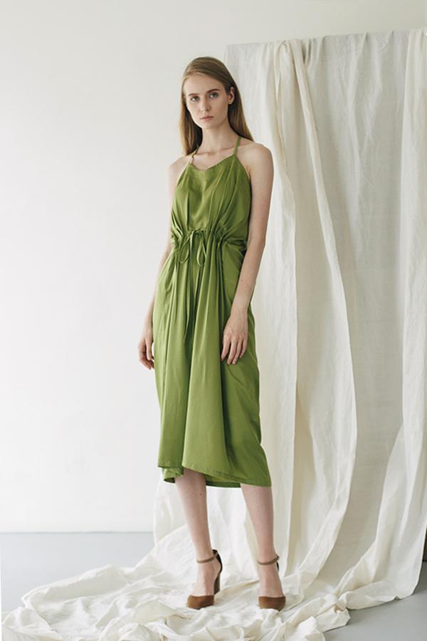 Jeanne Green Dress 1