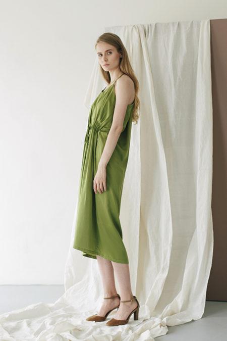 Jeanne Green Dress 2