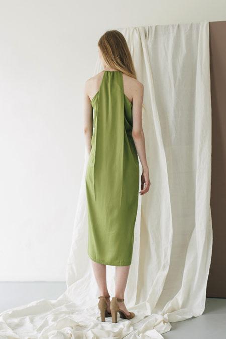 Jeanne Green Dress 3