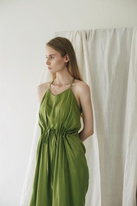 Jeanne Green Dress 4