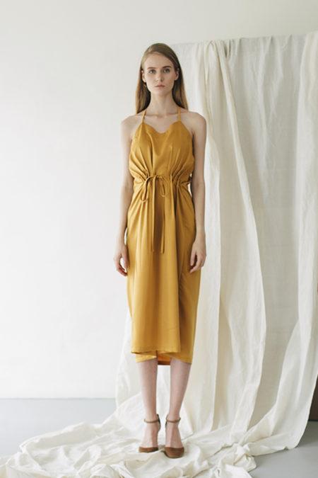Jeanne Yellow Dress 1