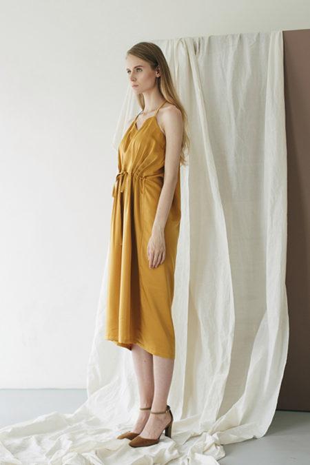 Jeanne Yellow Dress 2