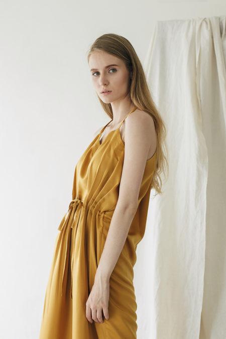 Jeanne Yellow Dress 4